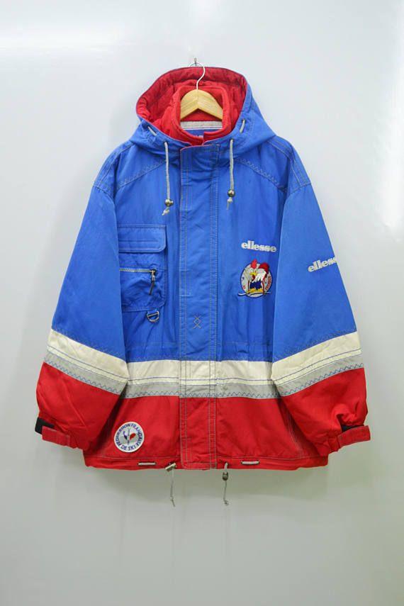 b3340afd33 RARE ELLESSE Jacket Vintage Ellesse Federation Francaise de ...