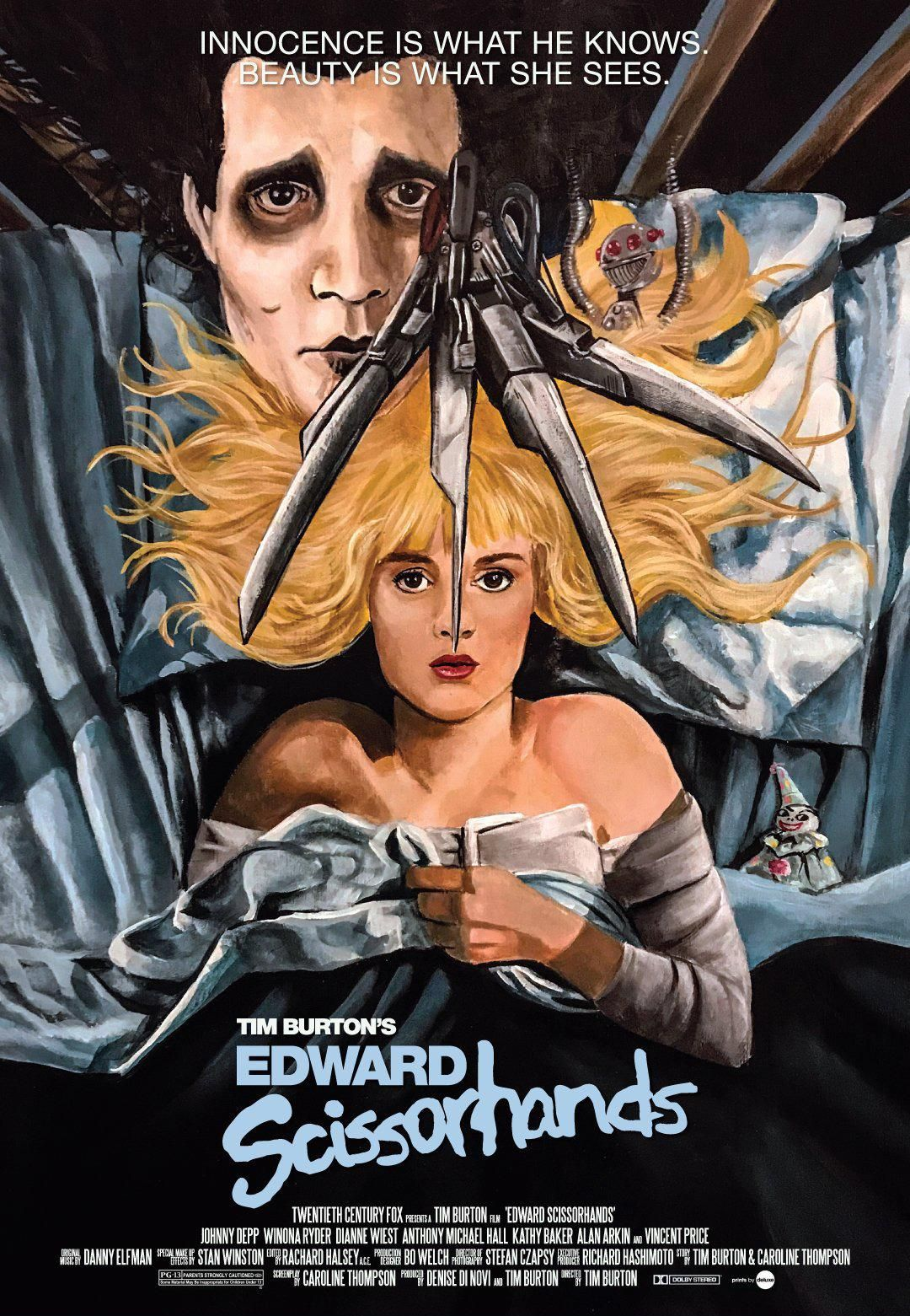 Edward Scissorhands 1990 One Of The Reasons I Felt In Love With