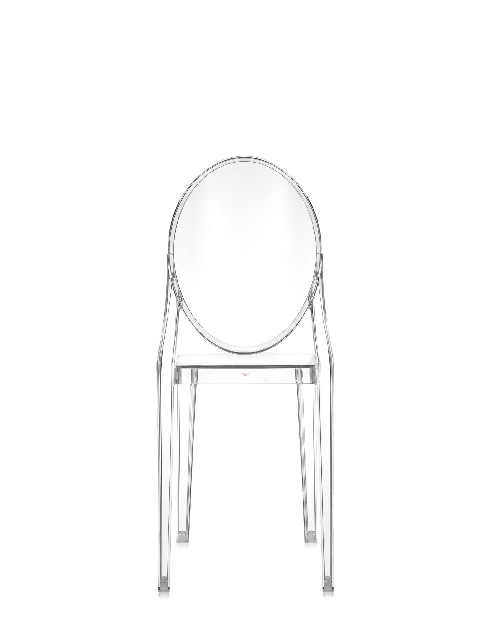 Kartell 4857B4 Chaise Victoria Ghost (Transparent)