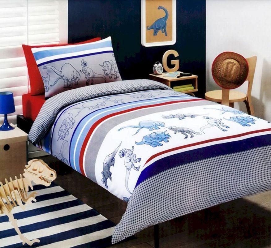Boys Dinosaur Bedding | Dinosaur bedding, Quilt cover sets ...