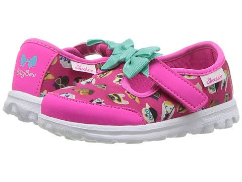 Skechers Go Walk-Bow Wow (Girls' Infant-Toddler) LUwZ4TmwJ