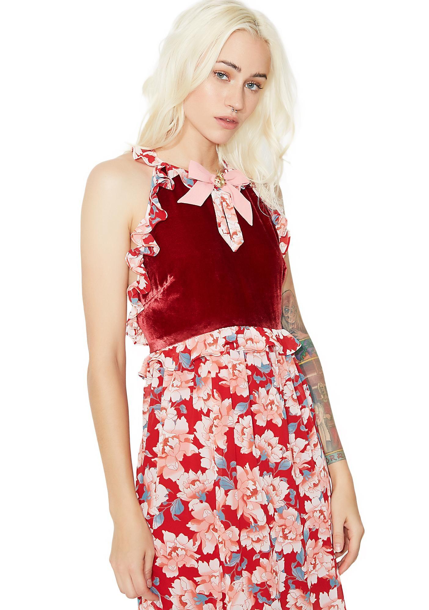 62dd96f9db7 Blossom Tank Maxi Dress