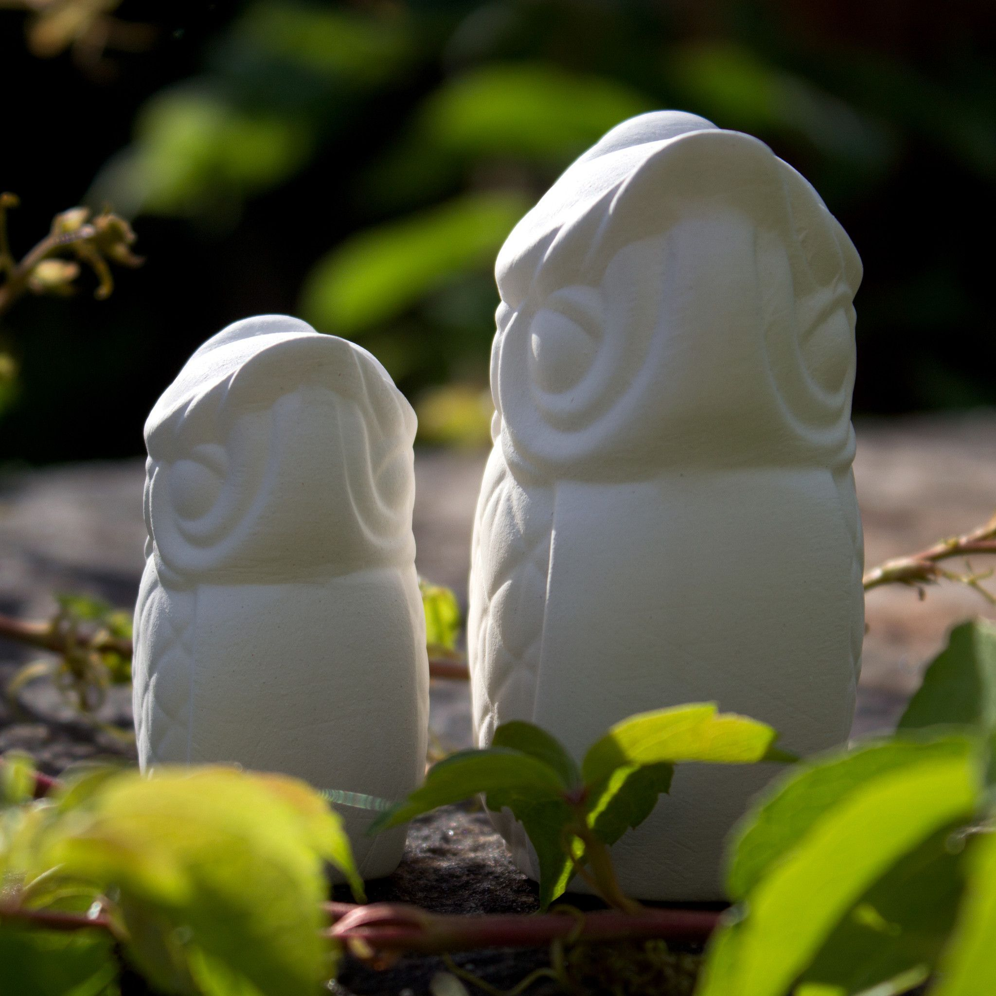 """Cute Owl Set 3"""" Ready to Paint Ceramic Bisque"""