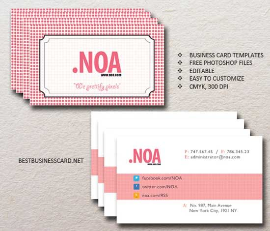 Pink business cards for women professionals professional pink business cards for women professionals colourmoves Gallery