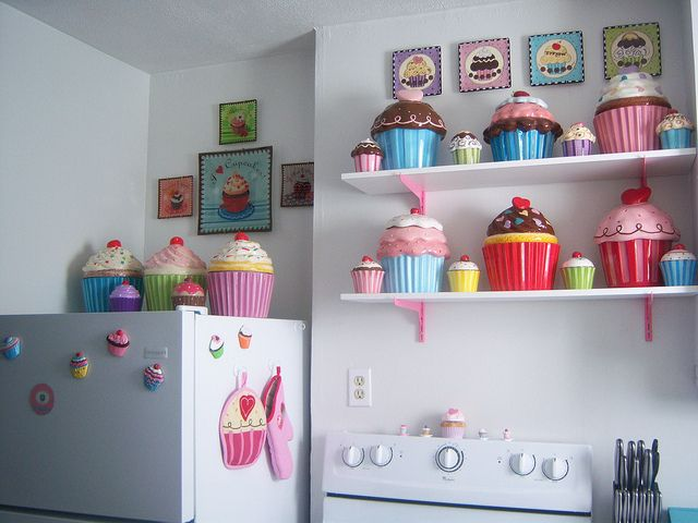 I Would Love To Have A Cupcake Themed Kitchen Flickr Photo Sharing