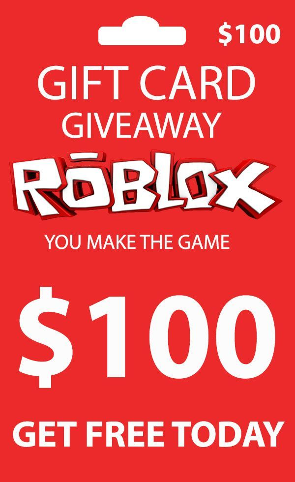 Photo of free roblox gift card