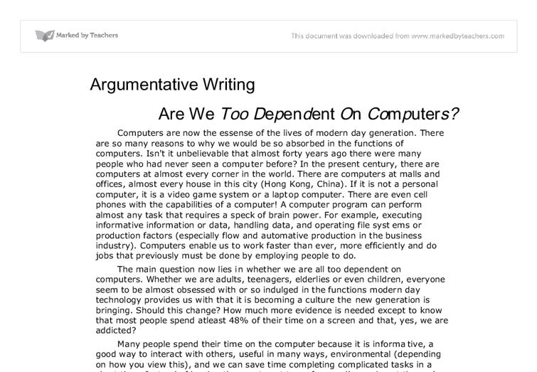 Best Argumentative Essay Writing Example Good Topic Informative Essays