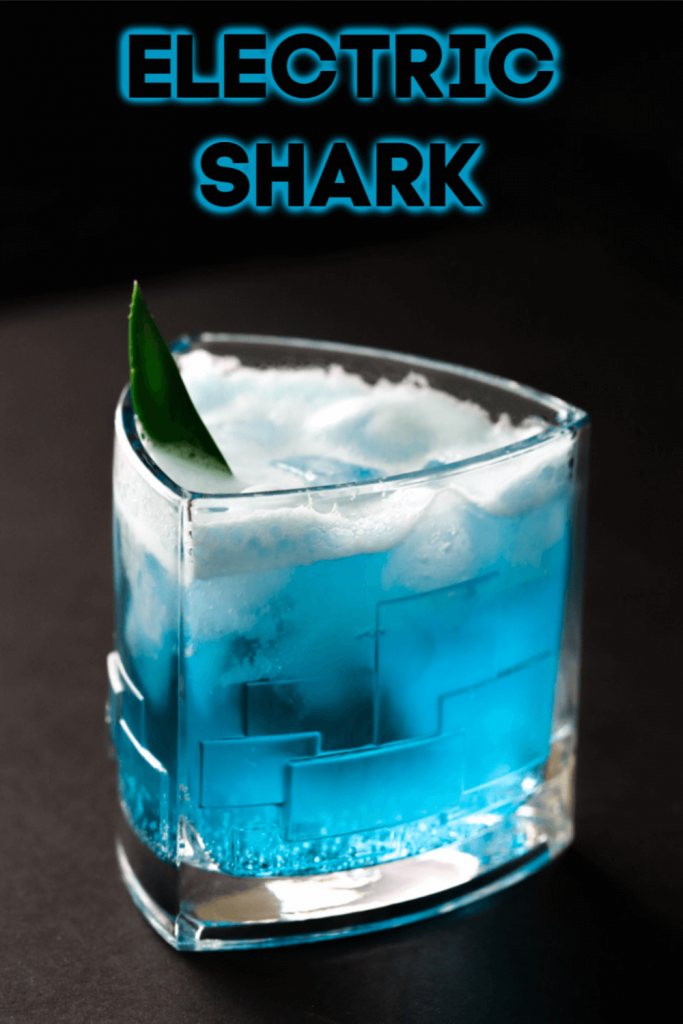 Electric Shark Cocktail #sharkweekfood