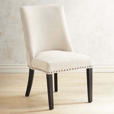 Corinne Linen Dining Chair