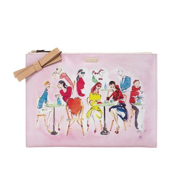 Limited Sale Kate Spade Oh La La Bella Pouch Kate Spade Kate Spade Bag Pouch