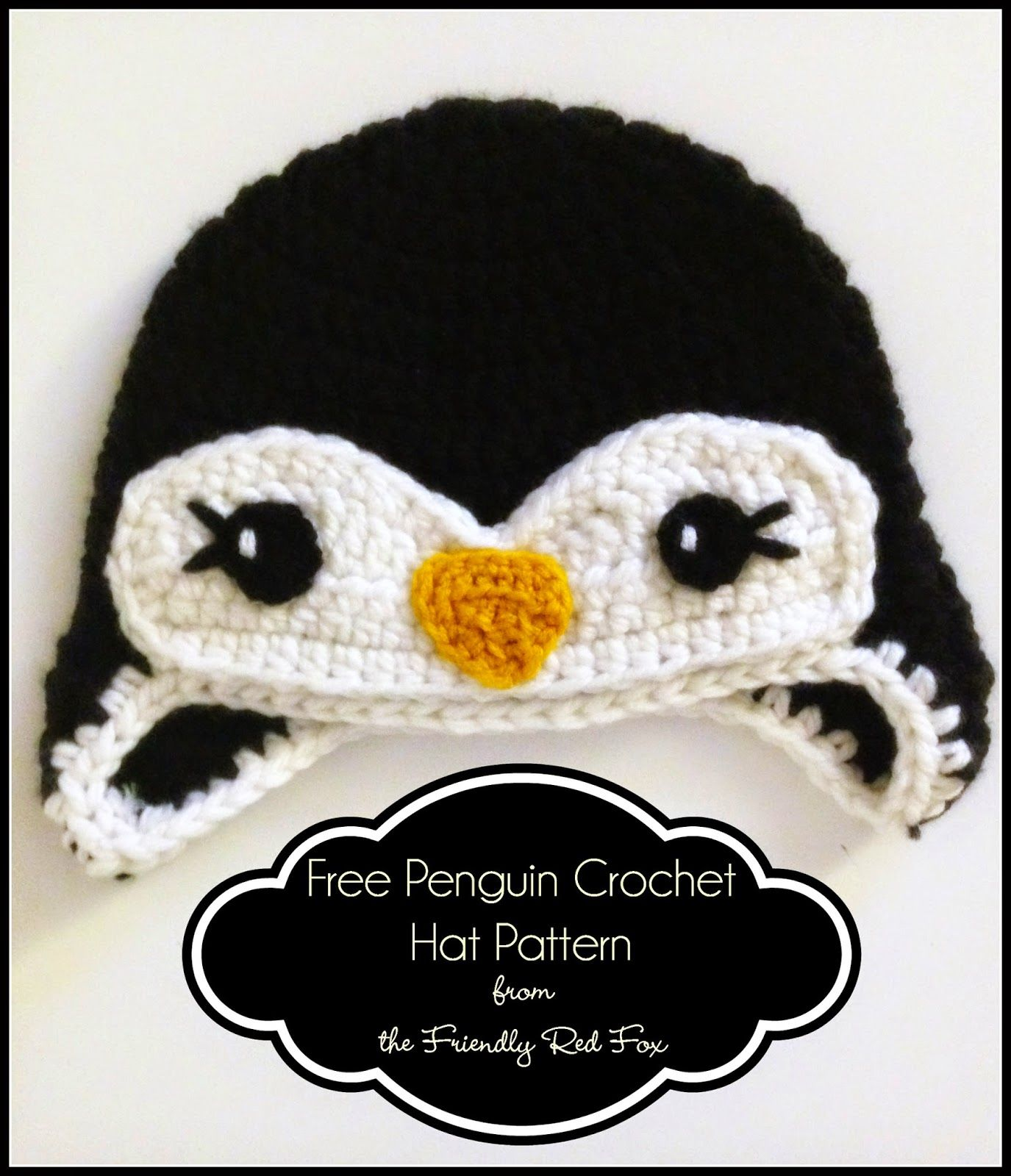 Free Penguin Crochet Hat Pattern | Crazy Cool Crochet LOVE ...