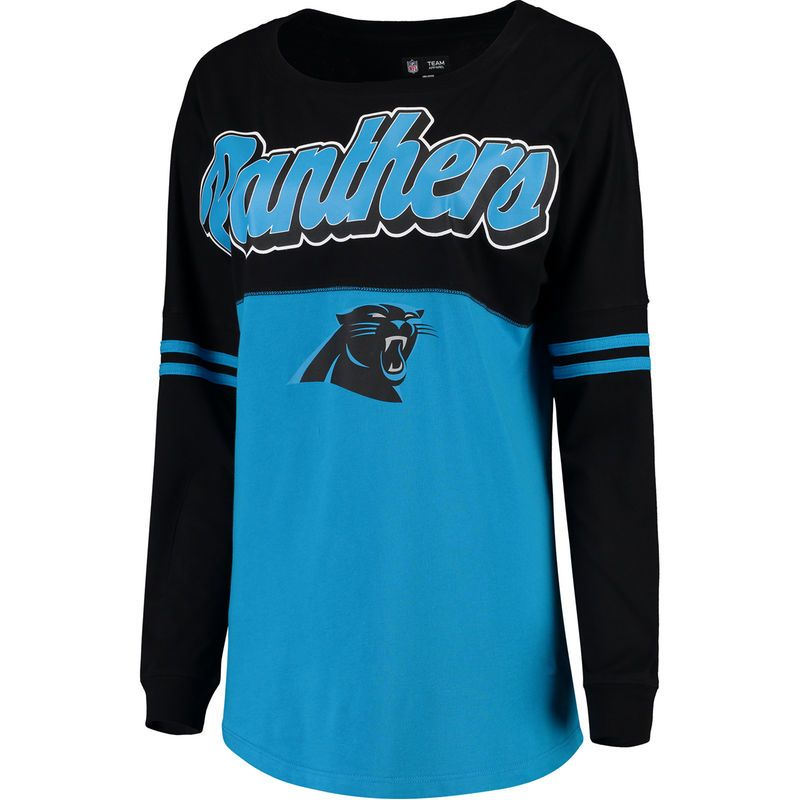 Carolina Panthers 5th & Ocean by New Era Women's Athletic Varsity  supplier