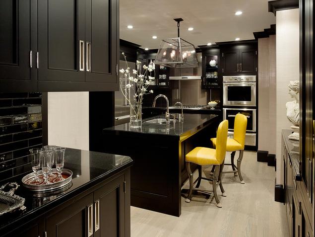 Marvelous Urban ID Interior Design Studio Portland Oregon Interior Designers Color  Crush Black Kitchen Blog #Color