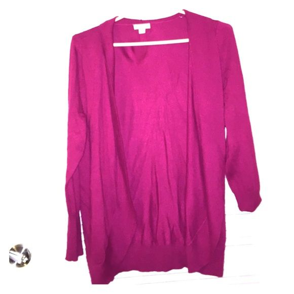 Beautiful Magenta colored sweater cardigan Beautiful Magenta (mix ...