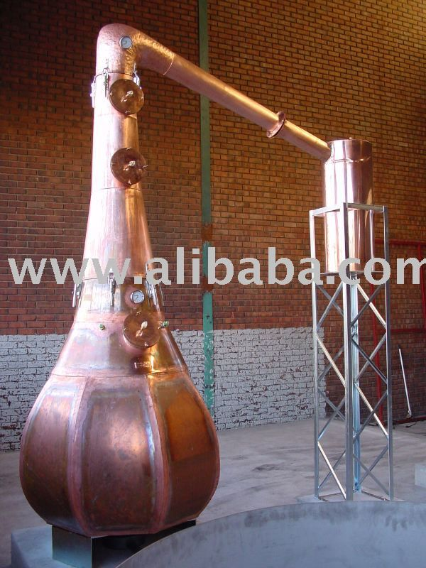 1000 liter Copper potstills, distillation, alcohol equipment $15000