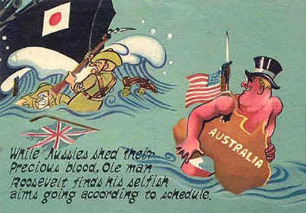 australias changing relationship with britain and us ww2