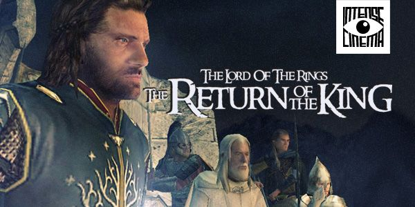 """Watch """"The Lord of the Rings: Return of the King"""" Video Game Film on Intense Cinema. Based on the fantasy world Tolkien richly created it ties in almost perfectly. """"The Lord of the Rings: The Return of the King"""" follows three separate story arcs loosely based on events in the film as Aragorn, Legolas, Gimli, Gandalf and Sam as they battle for the fate of Middle Earth."""