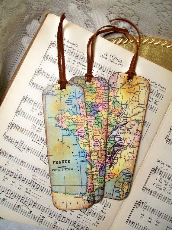France map bookmarks historical france set of 3 old world map gifts france map bookmarks historical france set of 3 old world map gumiabroncs Choice Image