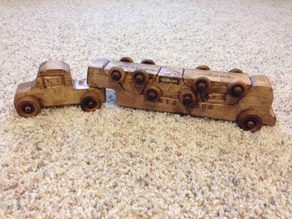 diy toy car carrier form 2x4 plans | woodworking craft | diy