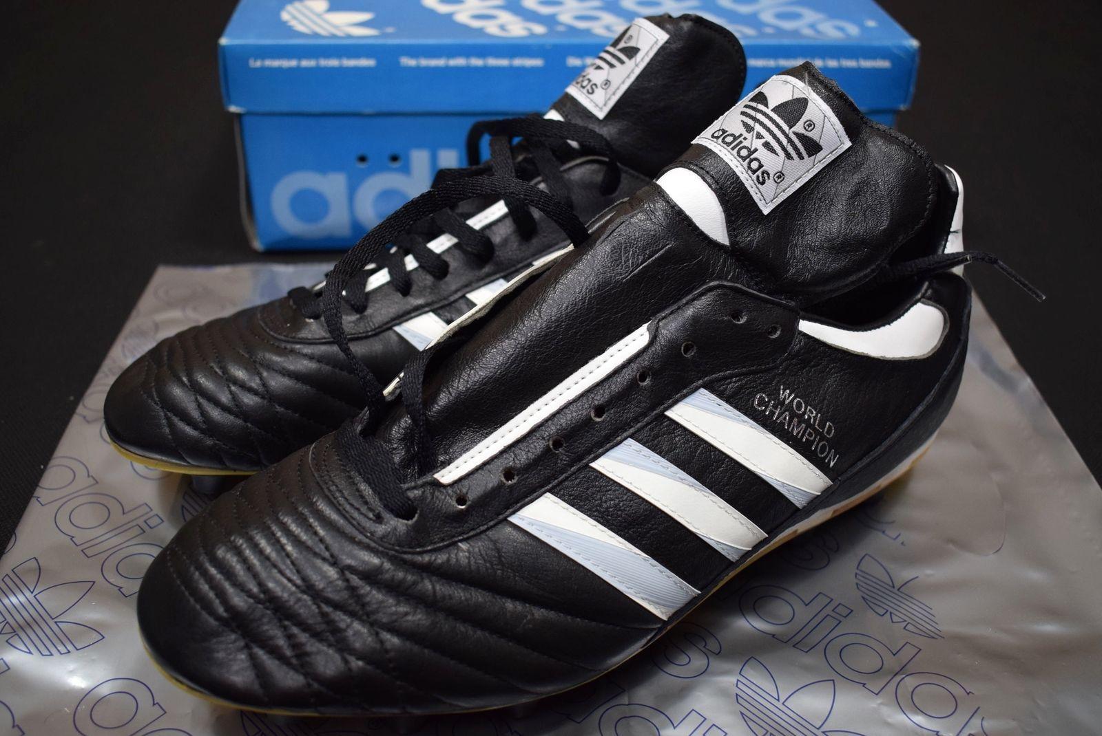 ec7a77342 Adidas World Cup Fussball Schuhe Soccer Shoes Football Cleats West Germany  44 NE | eBay