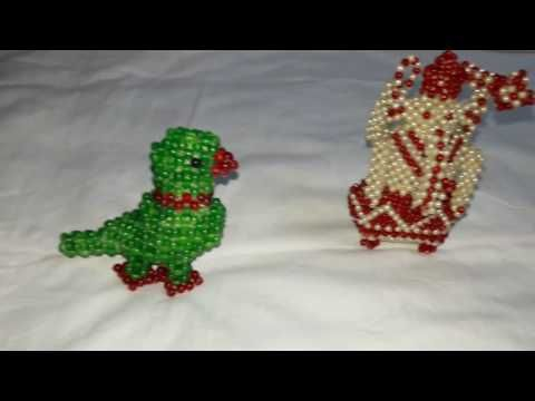 3D Beaded Elephant Tutorial ( Preview ) - YouTube