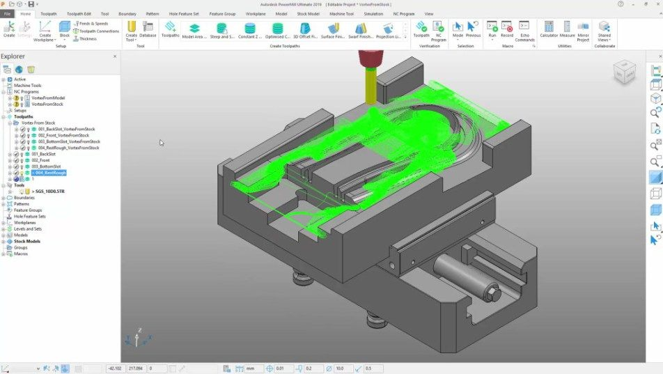Autodesk PowerMill 2018 Software