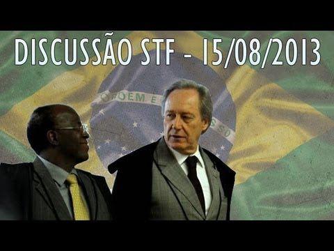 Joaquim Barbosa acusa Lewandowski de fazer 'chicana', e ministro cobra r...