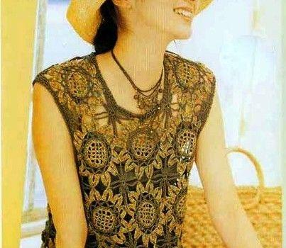 blusas de crochê   SAMOBRANOCHKA agulha mulheres, artesãs   Page 35