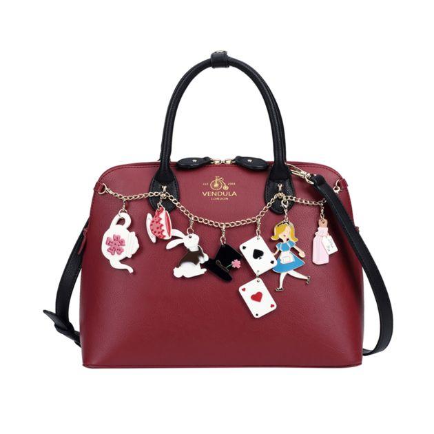 Sac maisy ALICE CHARM bordeaux Vendula London Radley London Handbags ba2eddaea9816