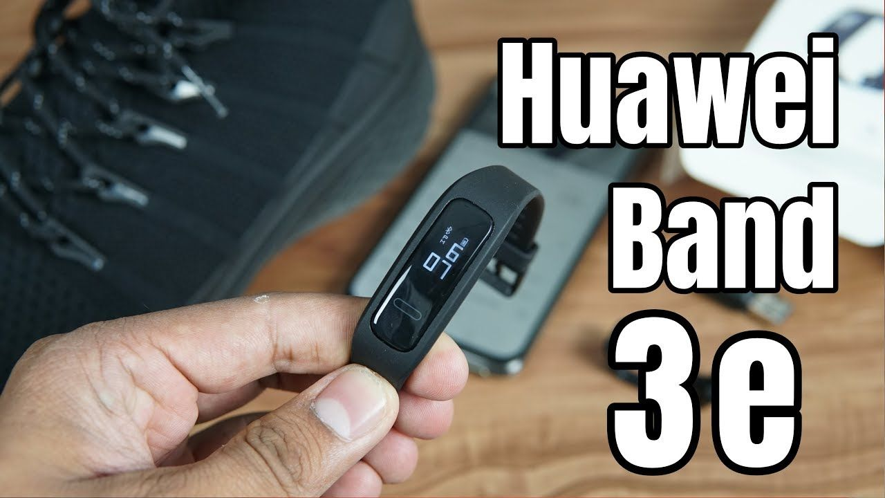 Huawei Band 3e Unboxing Features Setup | Huawei Health App | Foot