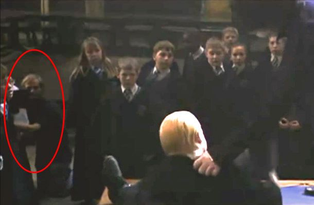 Harry Potter Cameraman : Harry potter and the chamber of secrets dueling as snape pulls