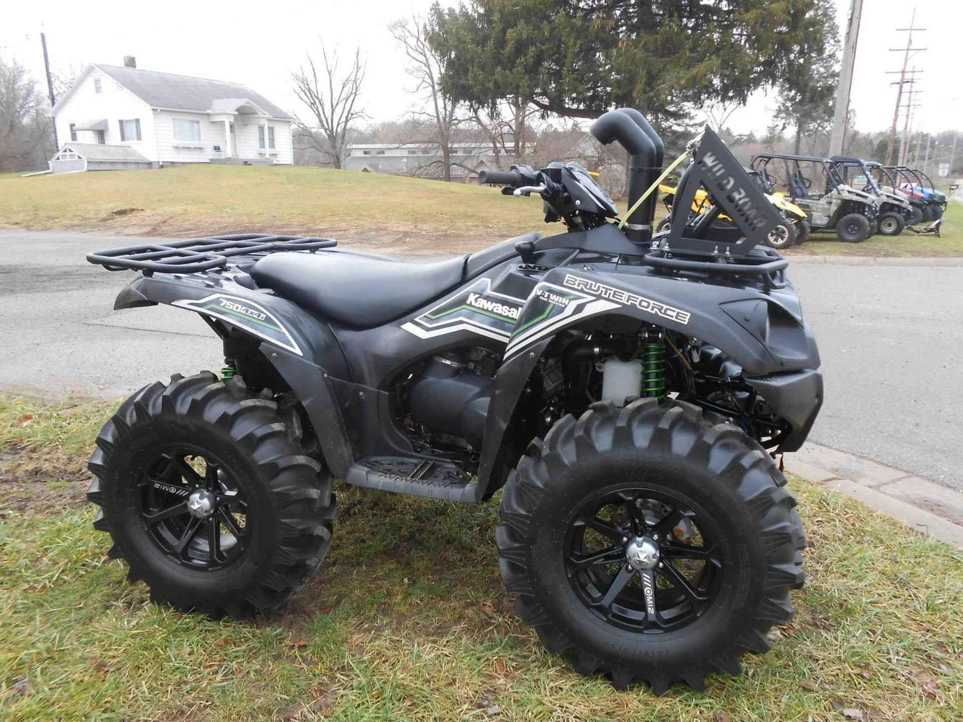 Used 2015 Kawasaki Brute Force® 750 4x4i EPS ATVs For