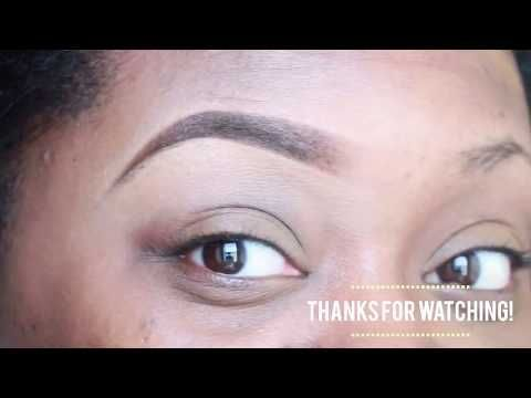 23ef6cc039d HOW TO SHAPE/FILL IN SPARSE EYEBROWS | EASY BROW TUTORIAL - YouTube  #BeautyTipsForDarkCircles