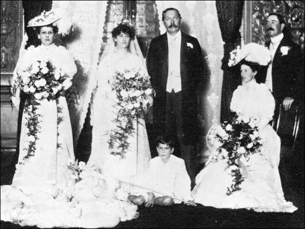 Arthur Conan Doyle y Jean Leckie. 1907