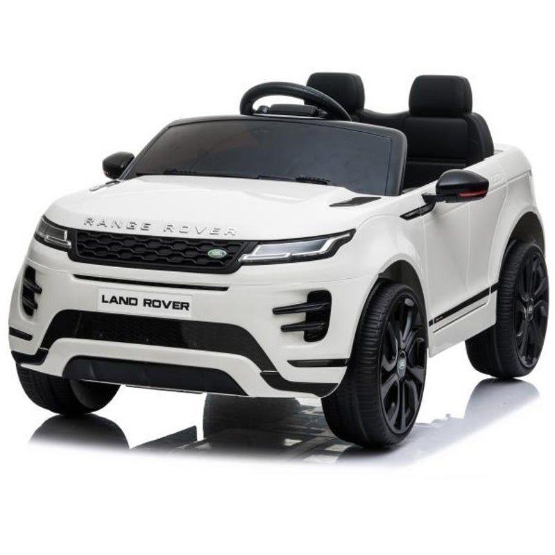 Licensed Land Rover Evoque 12v Electric Ride On Car Kids Ride On Toy White In 2021 Range Rover Range Rover Evoque Kids Ride On