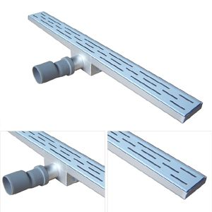 Linear Shower Drain With Waste Slot Xcfd 12 Shower Drain Floor Drains Sheet Metal Work