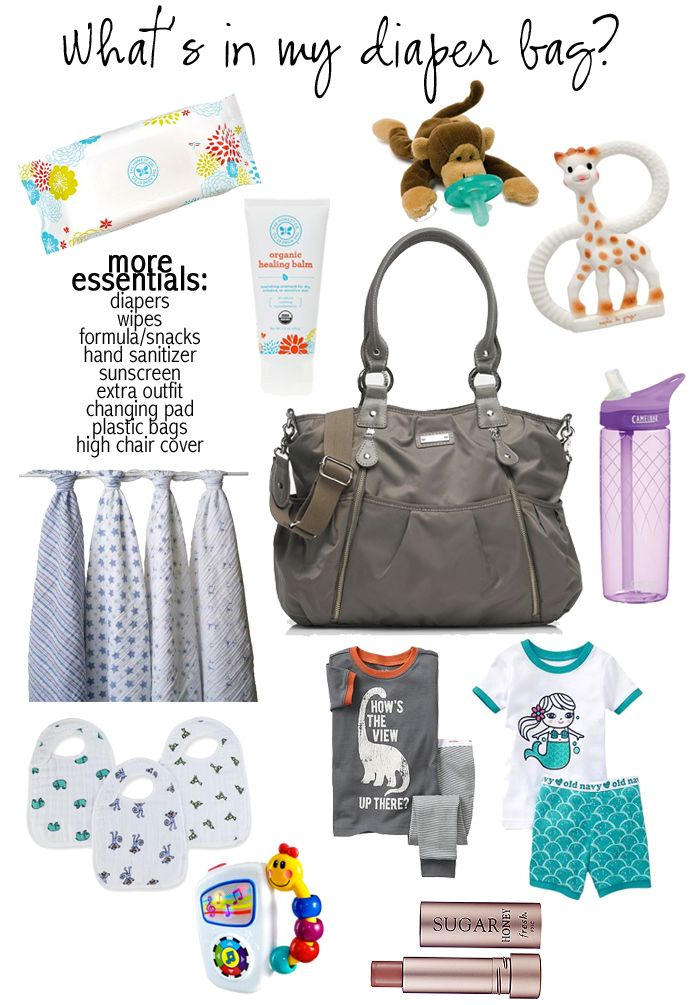 Diaper Bag Essentials With The Average Girls Guide Diaper Bag