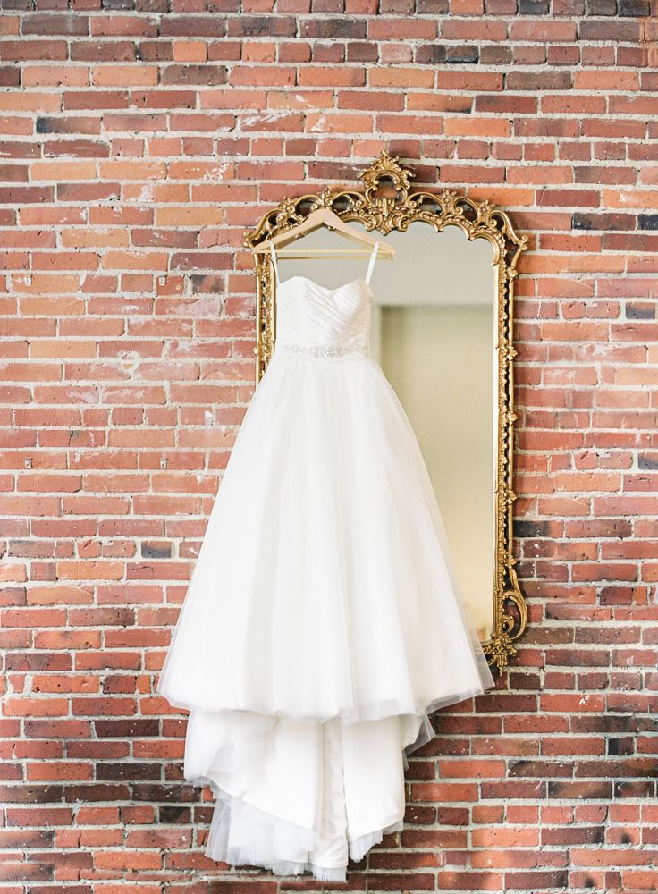 Kristi + Todd's Classic Seattle Wedding | Allure Bridals