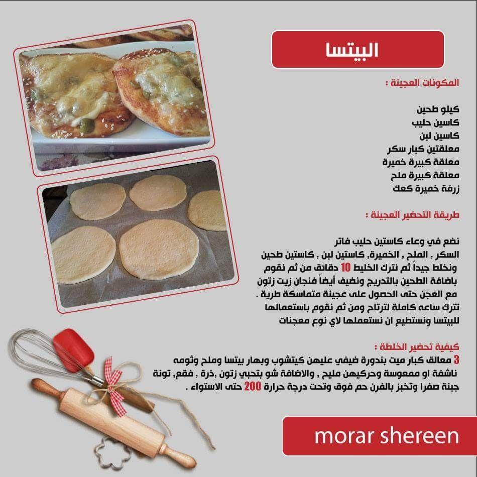 Pin By Yara On بيتسا Arabic Food Food Light Recipes