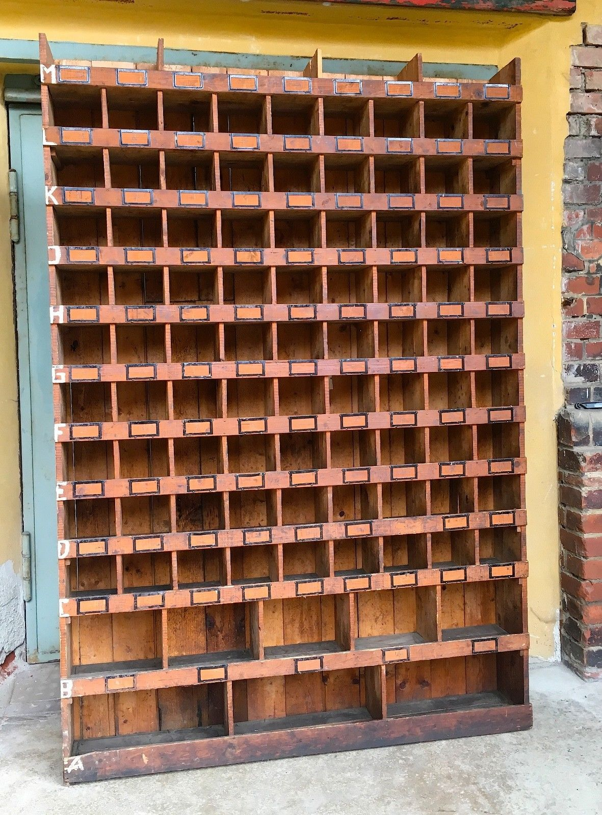 tolles Industrieregal Holzregal Vintage Loft Fabrikdesign ...