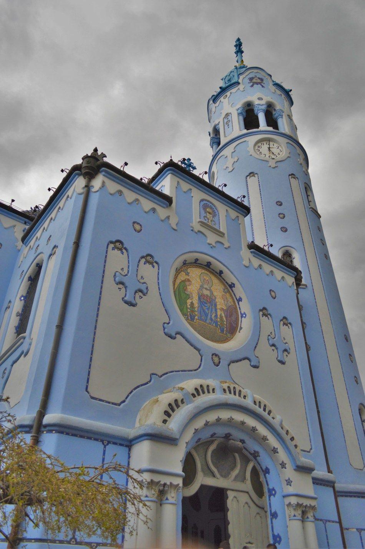 Church of St. Elisabeth, the Blue Church, Bratislava