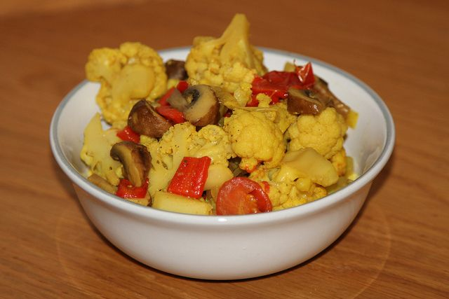 Spiced Cauliflower by Rachel Cotterill, via Flickr