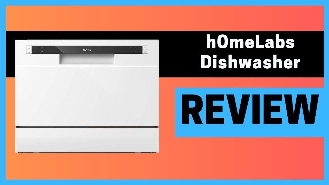 Homelabs Compact Countertop Dishwasher Review Dishwasher Reviews