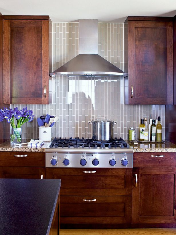 How Do You Like The Vertical Tile Placement Kitchen