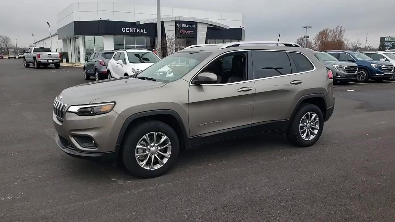 Used 2019 Jeep Cherokee Latitude Plus 4x4 At Central Buick Gmc Used G104751g Buick Gmc Jeep Cherokee Gmc