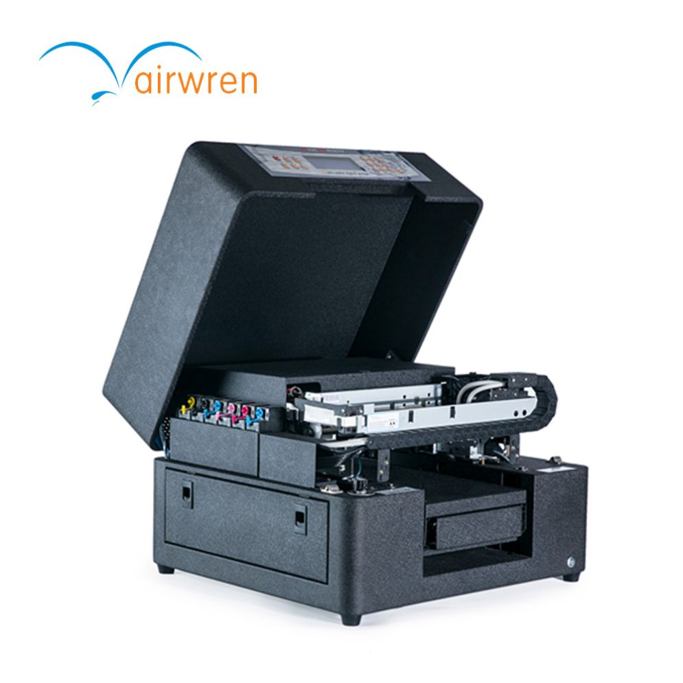 Mini A4 Multicolor Uv Phone Case Printer Plastic Business Cards Printer Card Printer Business Card Printer Mini Printer