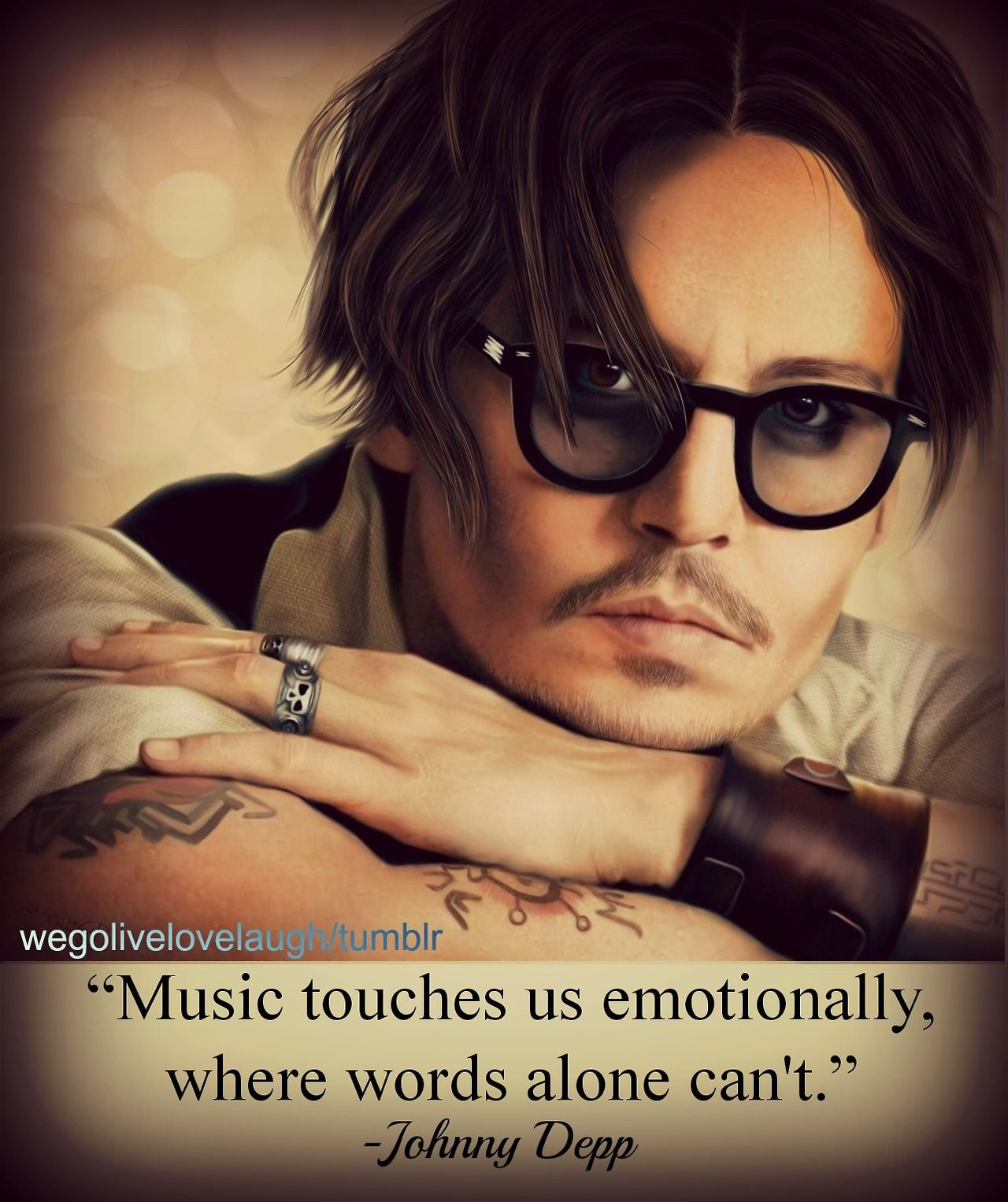 Music Touches Us Emotionally Where Words Alone Just Can't