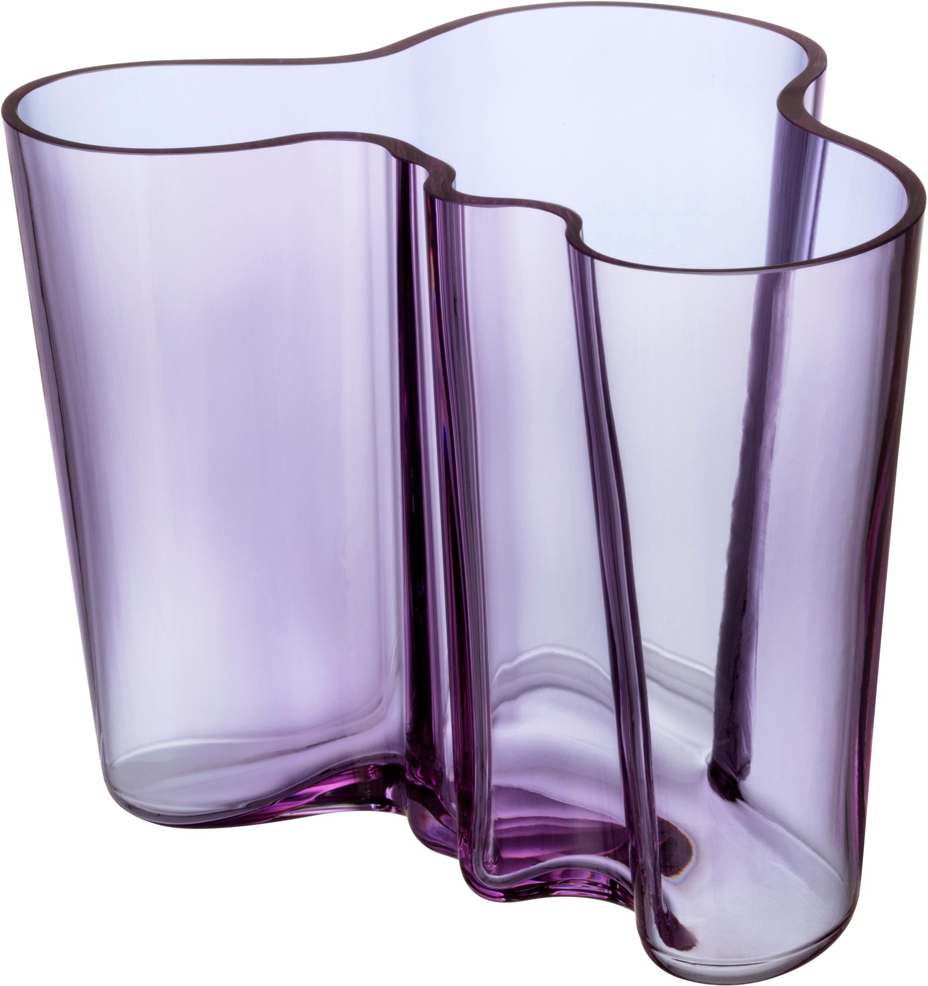 Alvar Aalto Collection Vase 160 Mm Amethyst Iittala Com