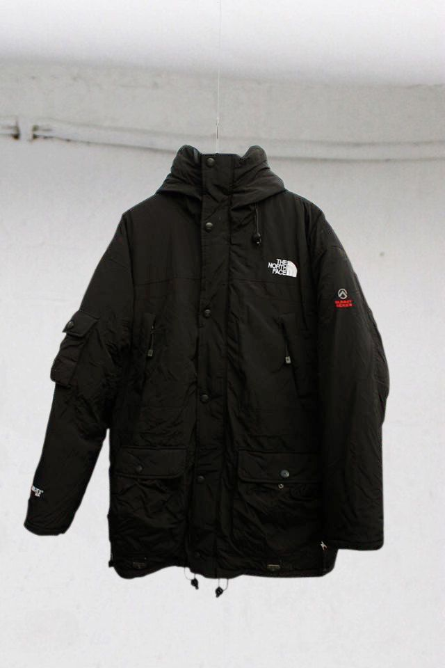 fdba6c7a85 The North Face Summit Series Black Gore-tex XCR Puffer Jacket