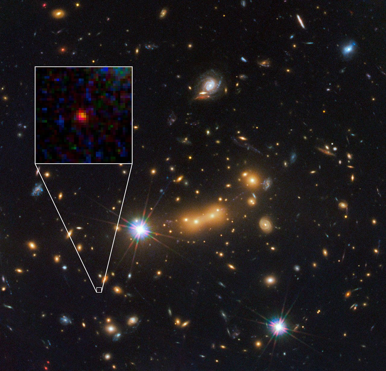 Newly discovered galaxy may be the most distant object yet